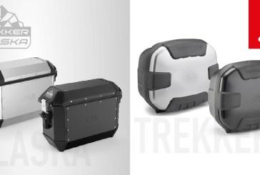 GIVI Présente les TREKKER ALASKA et TREKKER II : Les nouvelles valises en aluminium
