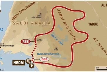 DAKAR 2020 - Stage 3 : boucle de Neom