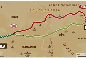 DAKAR 2020 - Stage 5 : de Al-`Ula à Ha'il