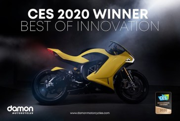 CES 2020 : Damon Motorcycles remporte le prix de l'innovation avec son Hypersport