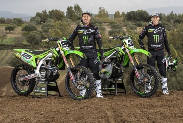 MotoCross : Nouvelle livrée pour Monster Energy Kawasaki Racing Team