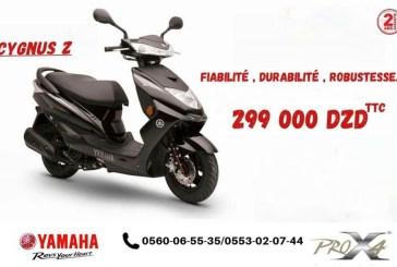 Le Yamaha CYGNUS Z 125cc est disponible au prix de 299.000 DA !