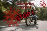 Coronavirus : Les motards doivent faire preuve de prudence !