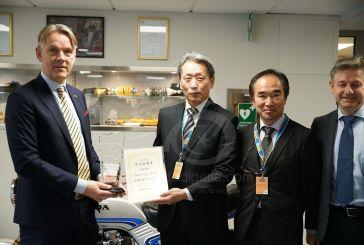 Öhlins reçoit le prix du fournisseur Honda pour la suspension de la Fireblade SP