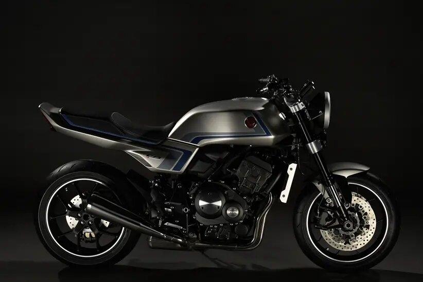 Honda présente son nouveau concept CB-F !