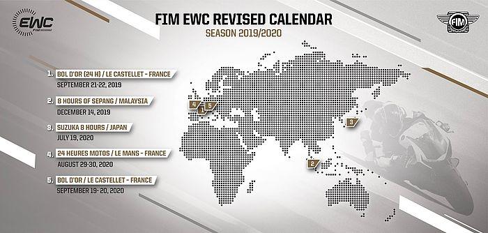 EWC : Décisions exceptionnelles pour le FIM EWC 2019/2020