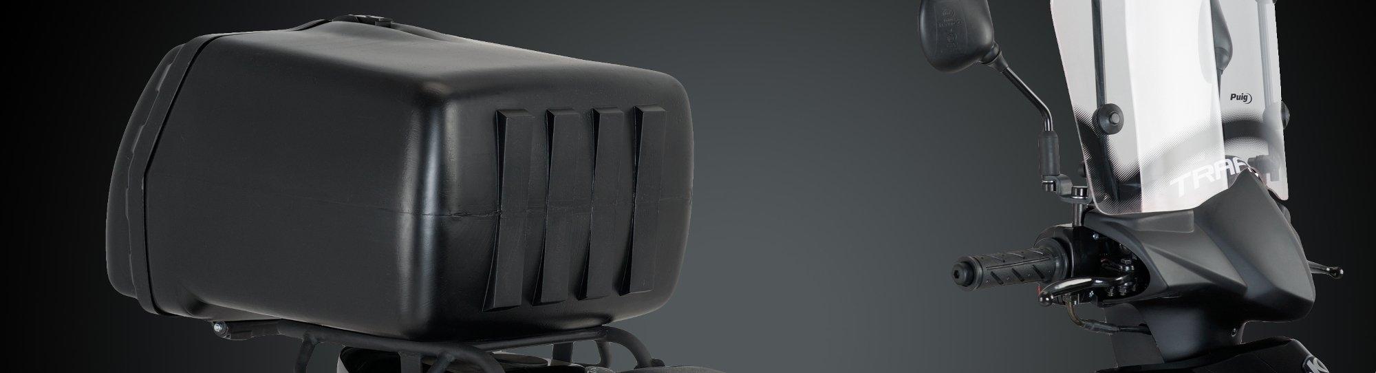 Box Puig : le coffre de livraison qui vous convient, pour moto et scooter !