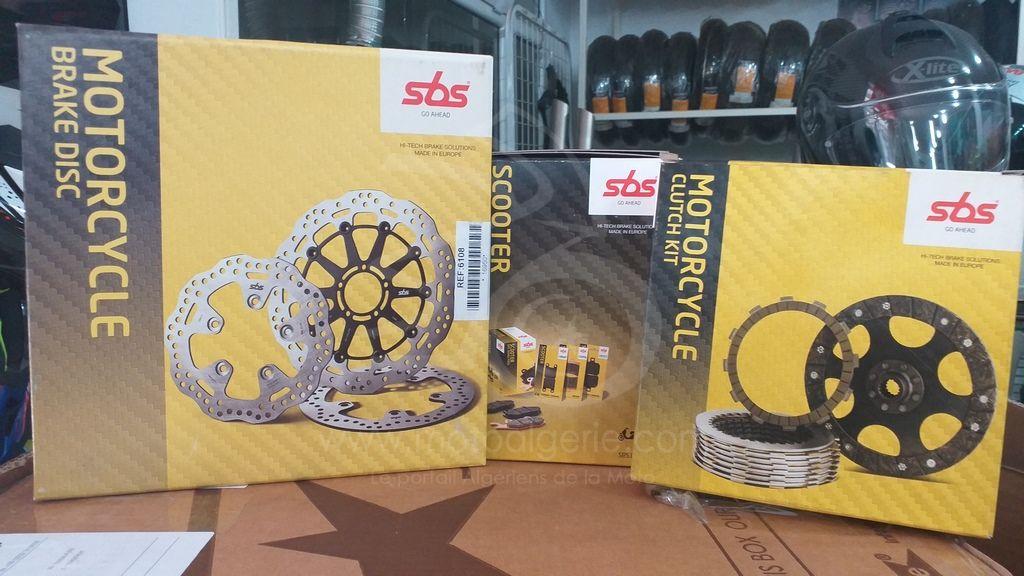 SBS Algérie : La gamme de disques et plaquettes de freins, ainsi que disques d'embrayage disponible