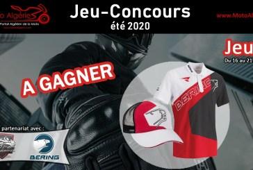 Jeu-Concours été 2020 - JEU#3 : Une Casquette et un Polo Bering Racing à gagner !