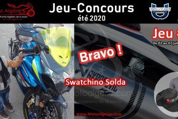JEU-CONCOURS Moto Algérie - été 2020 : gagnant du JEU#1 avec Akrapovic Algérie !