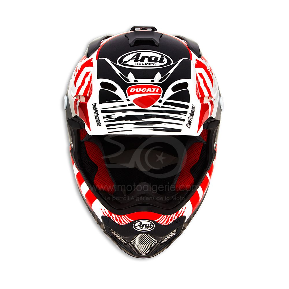 Ducati – Arai : Extension de la garantie à 5 ans sur tous les casques de la collection Ducati by Arai