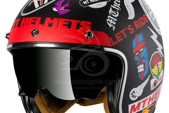 MT Helmets LE MANS 2 SV ANARCHY MATT BLACK