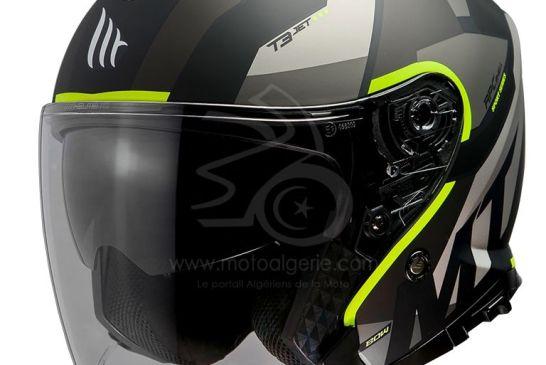 MT Helmets THUNDER 3 SV JET Bow A3 MATT FLUOR YELLOW