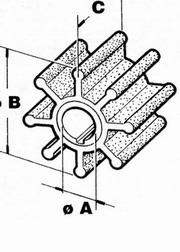 Pompa apa Mercury 4- 9.8 CP