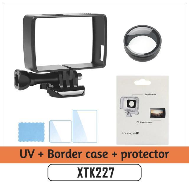 Xiaoyi Sport Camera for DJI Gopro Action Camera Xiaoyi Lite 37mm UV Filter Lens Filter with Cap for Xiaomi Xiaoyi 4K+ // 4K
