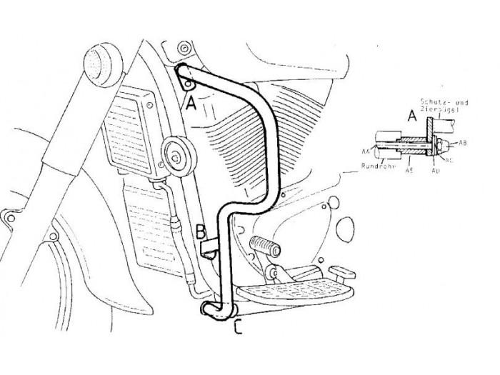 Gmole Hepco&Becker do Suzuki C 1500 Intruder [2005-2007
