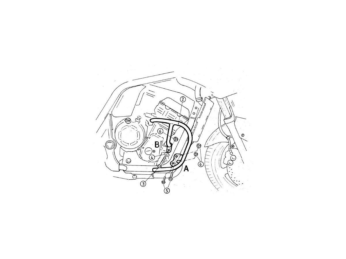 Gmole Hepco&Becker do Yamaha FZS 1000 Fazer [2001-2005]