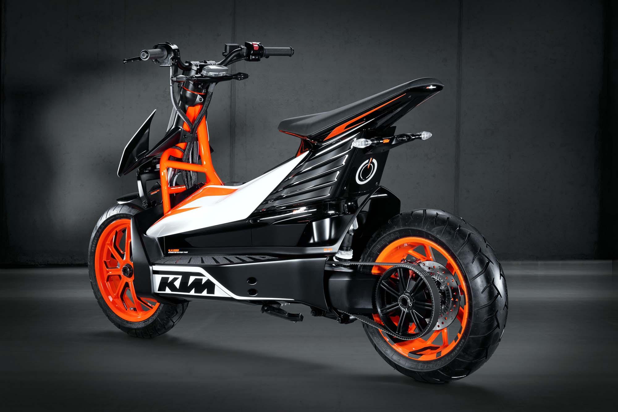 KTM akan meluncurkan motor E Speed di tahun 2015 kira