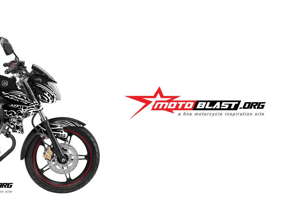 Modif Striping Yamaha New vixion Black