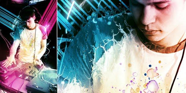 tutorial electric photo effect photoshop