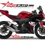 modificatio yamaha yzf r15 - 2014 - special edition fullmodification by motoblast