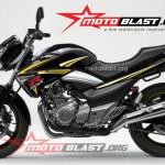 modif striping Suzuki Inazuma 250 - black-ala GSXR-2