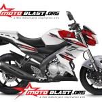 modification new vixion 2014 white red