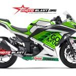ninja 250 GREEN - GO & FUN MOTOGP-motoblast