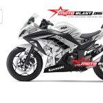 ninja 250 WHITE -ONE PIECE-flip-motoblast-small