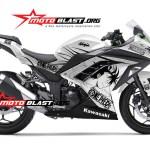 ninja 250 WHITE -ONE PIECE-motoblast-small-front
