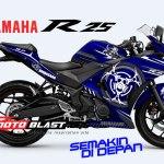 YAMAHAR25-BLUE-BIO HAZARD-SMALL