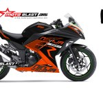 ninja 250 ORANGE-KTM RACING NEW