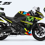 YAMAHAR25-MONSTER-BLACK-ROSSI VR 46