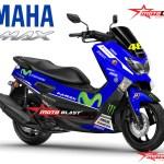 NMAX BLUE MOVISTAR 2015-2