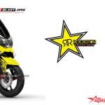 NMAX yellow ROCKSTAR2