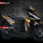1- VARIO 150 BLACK MATTE - ONE PIECE-2b