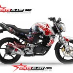 modifikasi yamaha Byson transformer optimus prime
