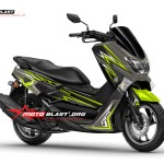 NMAX GOLD-GREEN THUNDER