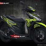 Vario 150 black green lemon speedmaster