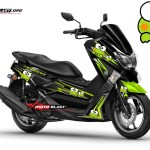 Modifikasi Yamaha NMAX BLACK KEROPI