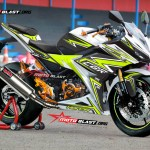 CBR150R BIG WHITE SUPER THUNDER-motoblast