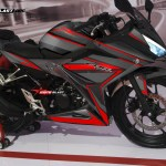 modifikasi honda all new cbr150r 2016 black super carbon