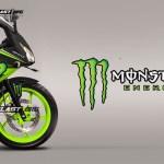 CBR150R LOKAL BLACK MONSTER motoblast