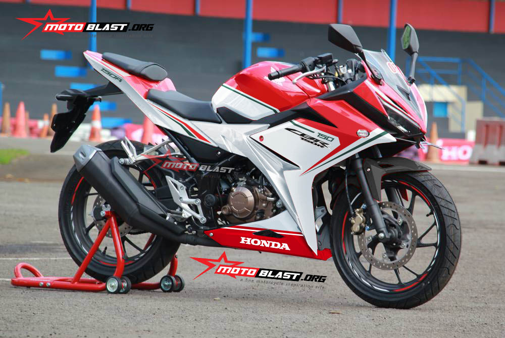 all new CBR150R RED ducati motoblast