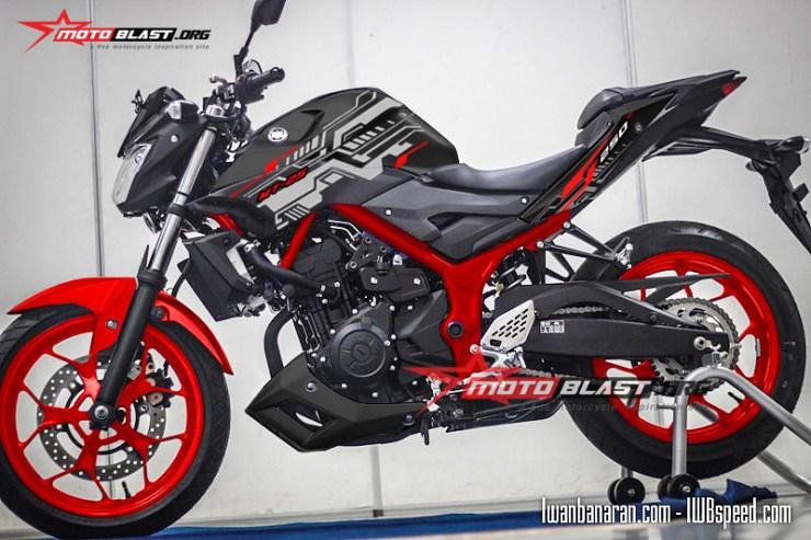 MT25-BLACK HITECH motoblast