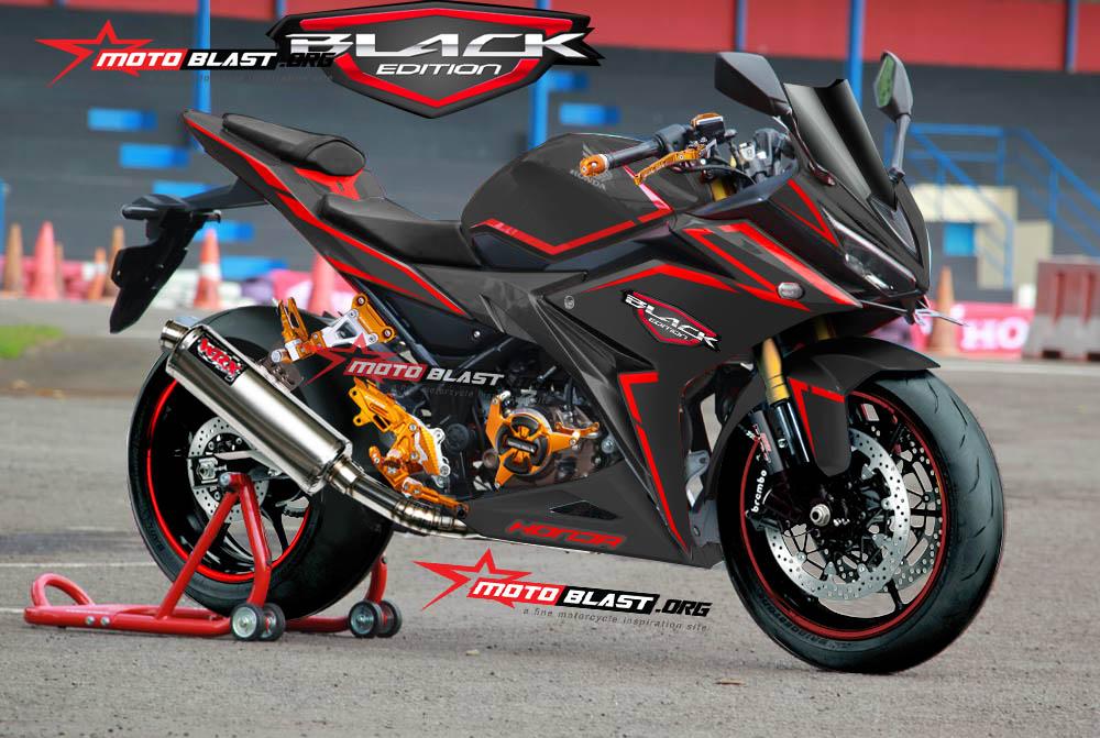 Modifikasi CBR150r 2016 black edition