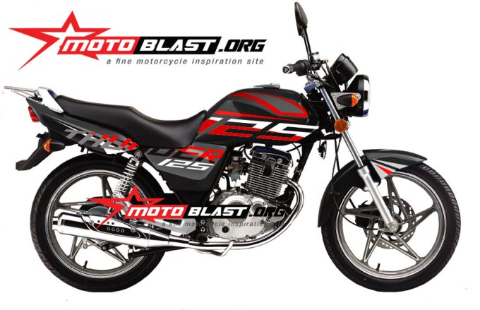 THUNDER 125 BLACK NEW1