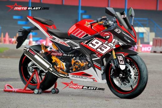 CBR150R BIG RED MM93 PROJECT