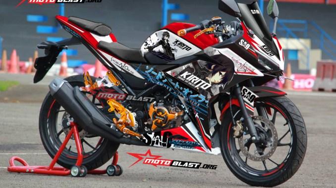 CBR150R RED KIRITO