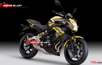 Graphic Kit Moge Series Kawasaki ER6N – Thunder